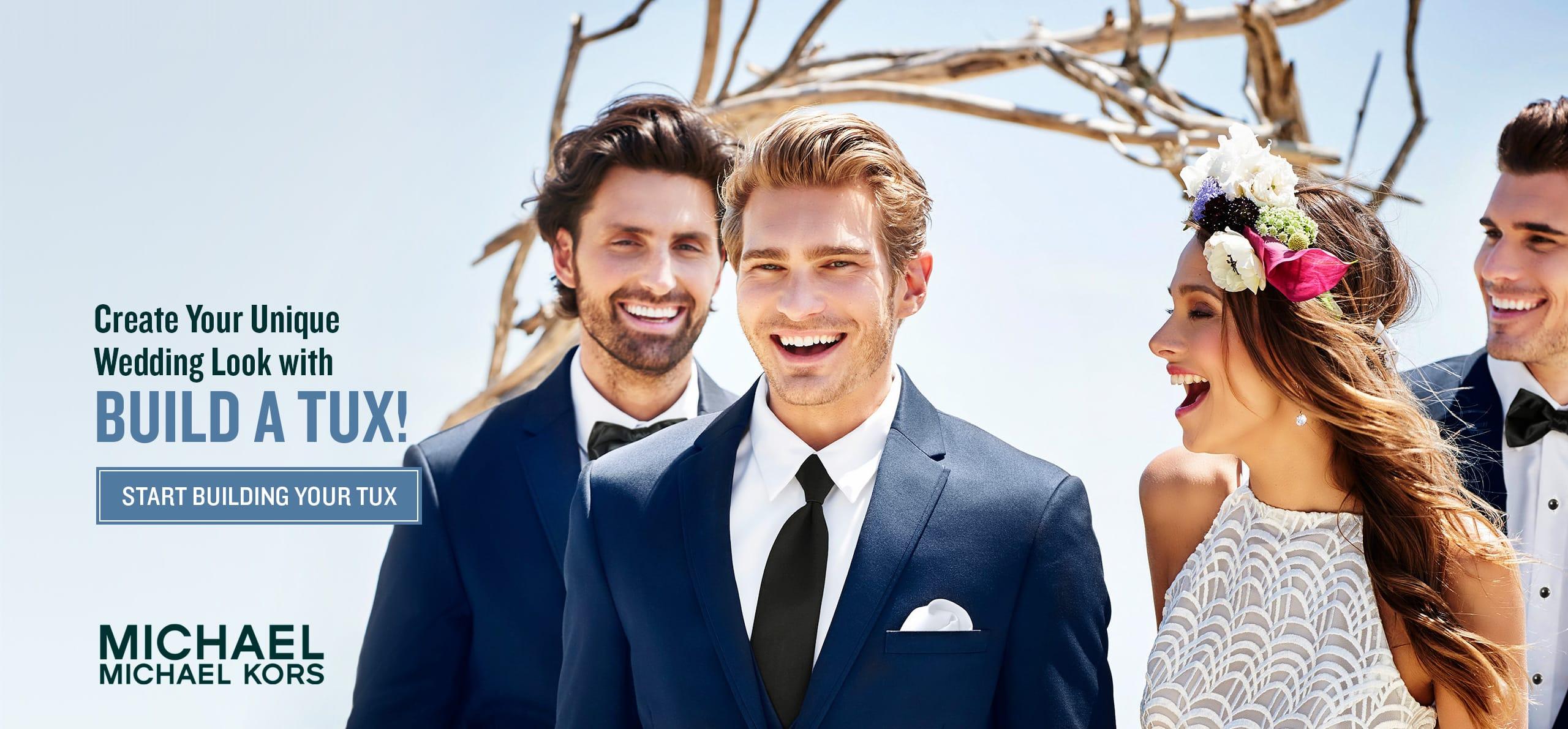 Formal day wear wedding